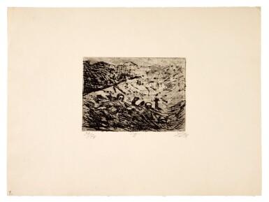 View 3. Thumbnail of Lot 19. Der Krieg (K. 70 - 119).