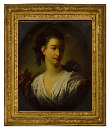 View 3. Thumbnail of Lot 84. Portrait of Madeleine Riggieri, called Adeline Colombe.