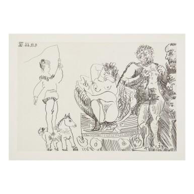 View 7. Thumbnail of Lot 169. PABLO PICASSO | LE COCU MAGNIFIQUE (B. 1244-1255; BA. 1432-1443; C. BKS 140).