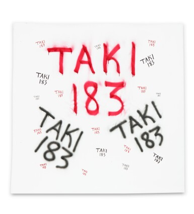 View 2. Thumbnail of Lot 43. TAKI 183 | UNTITLED.
