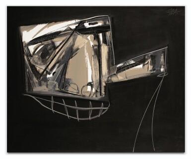 ANTONIO SAURA | PORTRAIT DE MARCEL DUCHAMP