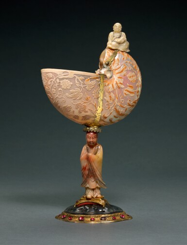 NETHERLANDISH, PROBABLY AMSTERDAM, MID-17TH CENTURY AND LATER | NAUTILUS CUP