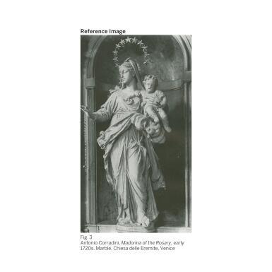 View 4. Thumbnail of Lot 61.  GIOVANNI BATTISTA TIEPOLO |  MADONNA OF THE ROSARY WITH ANGELS.