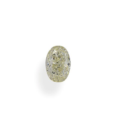A 1.01 Carat Oval-Shaped Diamond, W-X Color, VVS2 Clarity