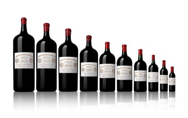 View 2. Thumbnail of Lot 1. Château Cheval Blanc 2011   Complete Collection of All Bottle Sizes   From Mestrezat Grands Crus.