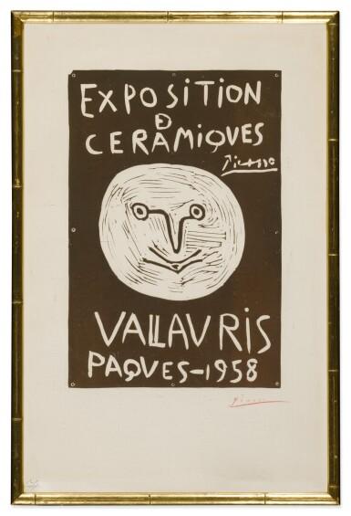 Exposition de Céramiques Vallauris Pâques-1958 (Bloch 1279; Baer 1047)