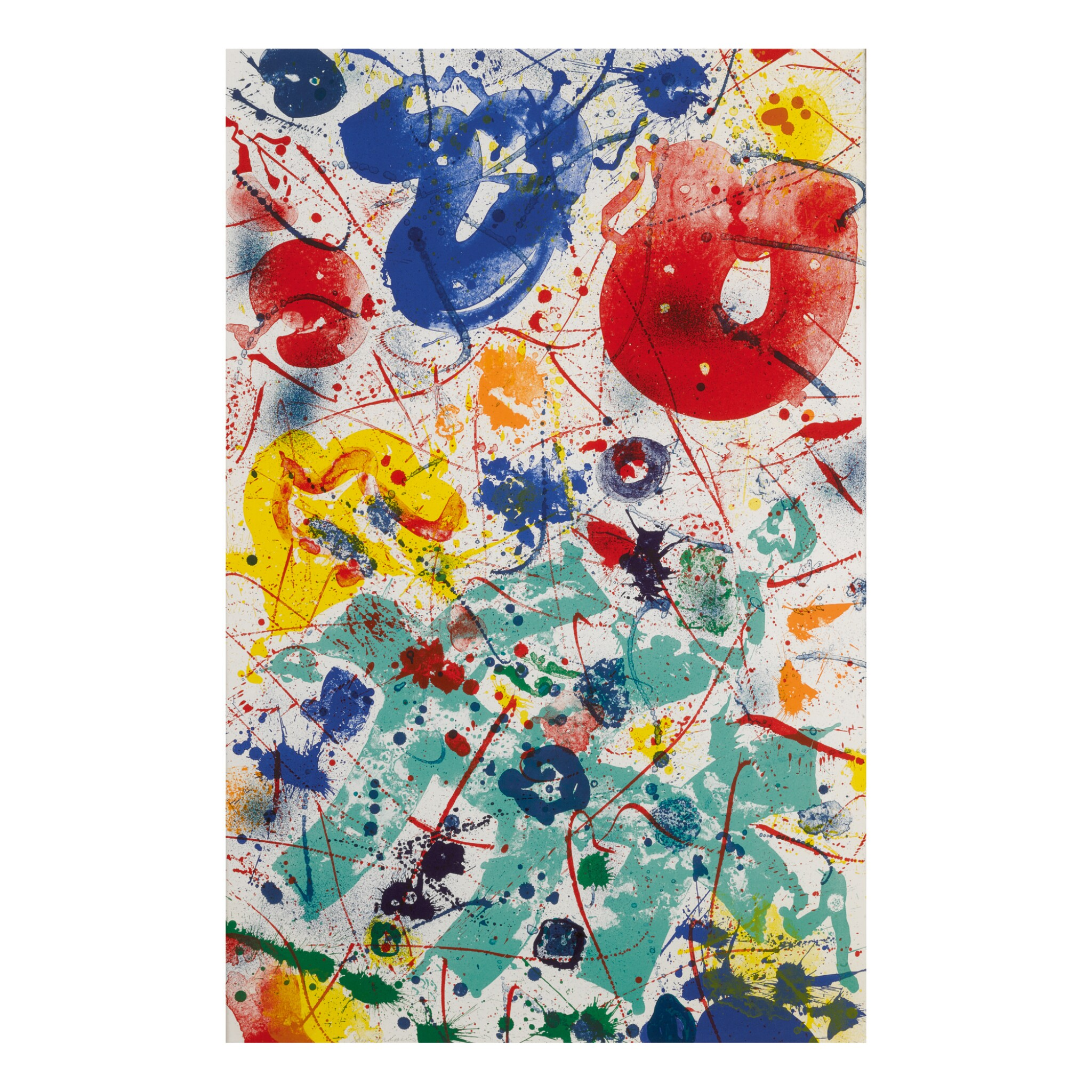 View full screen - View 1 of Lot 199. SAM FRANCIS | UNTITLED (SF-358).