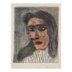 PABLO PICASSO |  TÊTE DE FEMME III: PORTRAIT DE DORA MAAR (B. 1339; BA. 651)