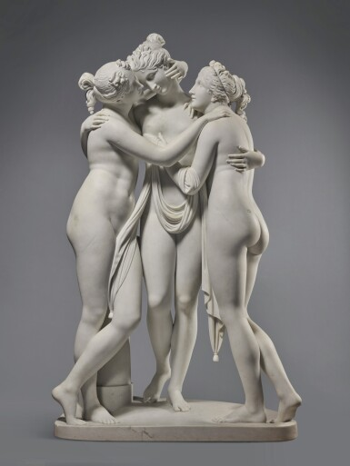 View 1. Thumbnail of Lot 218. The Three Graces.