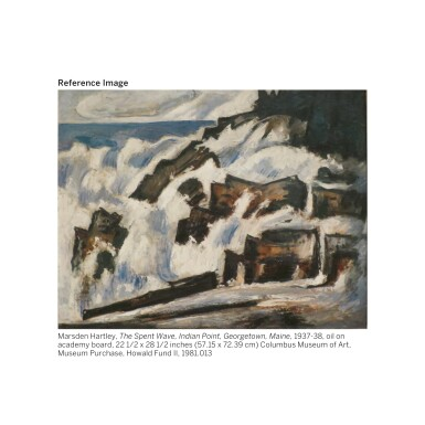 View 6. Thumbnail of Lot 30. GEORGIA O'KEEFFE | NATURE FORMS - GASPÉ.
