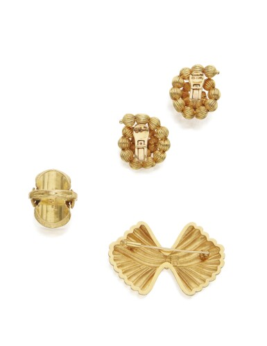 View 3. Thumbnail of Lot 107. GROUP OF GOLD JEWELRY, ILIAS LALAOUNIS.