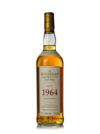 The Macallan Fine & Rare 37 Year Old 58.2 abv 1964 (1 BT75cl)