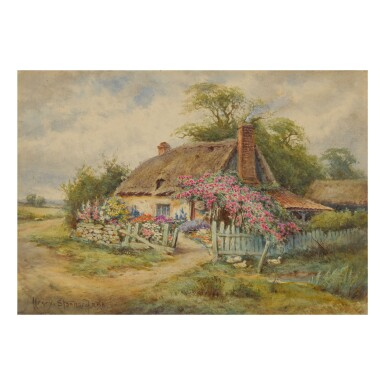 HENRY STANNARD R.B.A | THE OLD HOMESTEAD