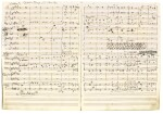 "Max Bruch. Autograph manuscript full score of the Overture to his opera ""Die Loreley"", April 1863"