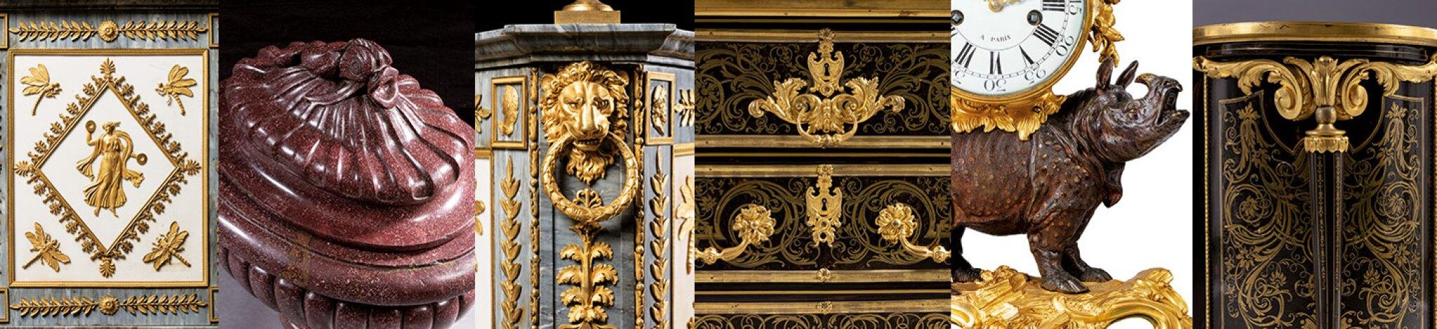 Redécouvertes : important mobilier du XVIIIe siècle provenant d'une prestigieuse collection