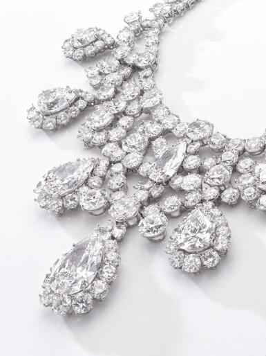View 3. Thumbnail of Lot 176.  Harry Winston | Diamond necklace, circa 1973 | 海瑞溫斯頓 | 鑽石項鏈,約1973年.