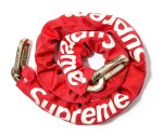 SUPREME BIKE CHAIN RED