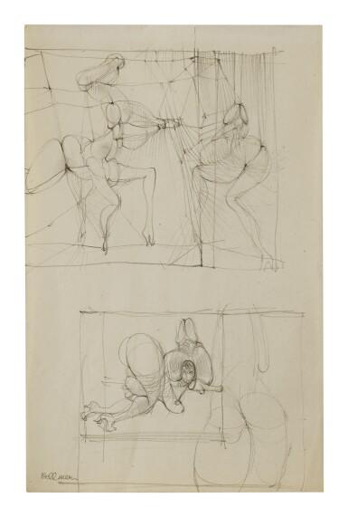 View 1. Thumbnail of Lot 20. HANS BELLMER | SANS TITRE.
