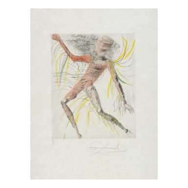View 4. Thumbnail of Lot 93. SALVADOR DALÍ   THE HIPPIES (MICHLER & LÖPSINGER 377-387; FIELD 69-13).