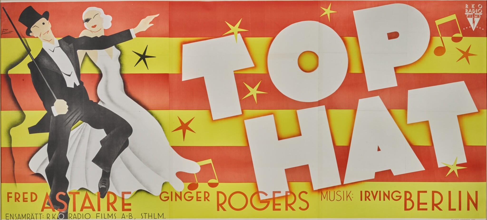 View full screen - View 1 of Lot 72. Top Hat (1935) Swedish.