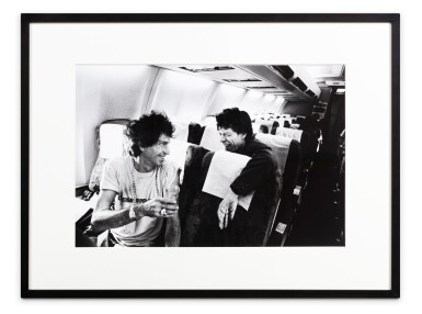 View 2. Thumbnail of Lot 75. Keith Richards, Mick Jagger - Madrid - Marseille 1990.