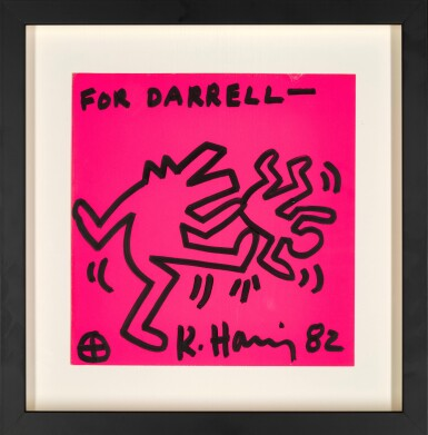 View 2. Thumbnail of Lot 13. KEITH HARING |  UNTITLED .