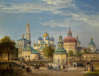 View 1. Thumbnail of Lot 31. JOSEPH ANDREAS WEISS   THE TRINITY LAVRA OF ST SERGIUS AT SERGIEV POSAD.