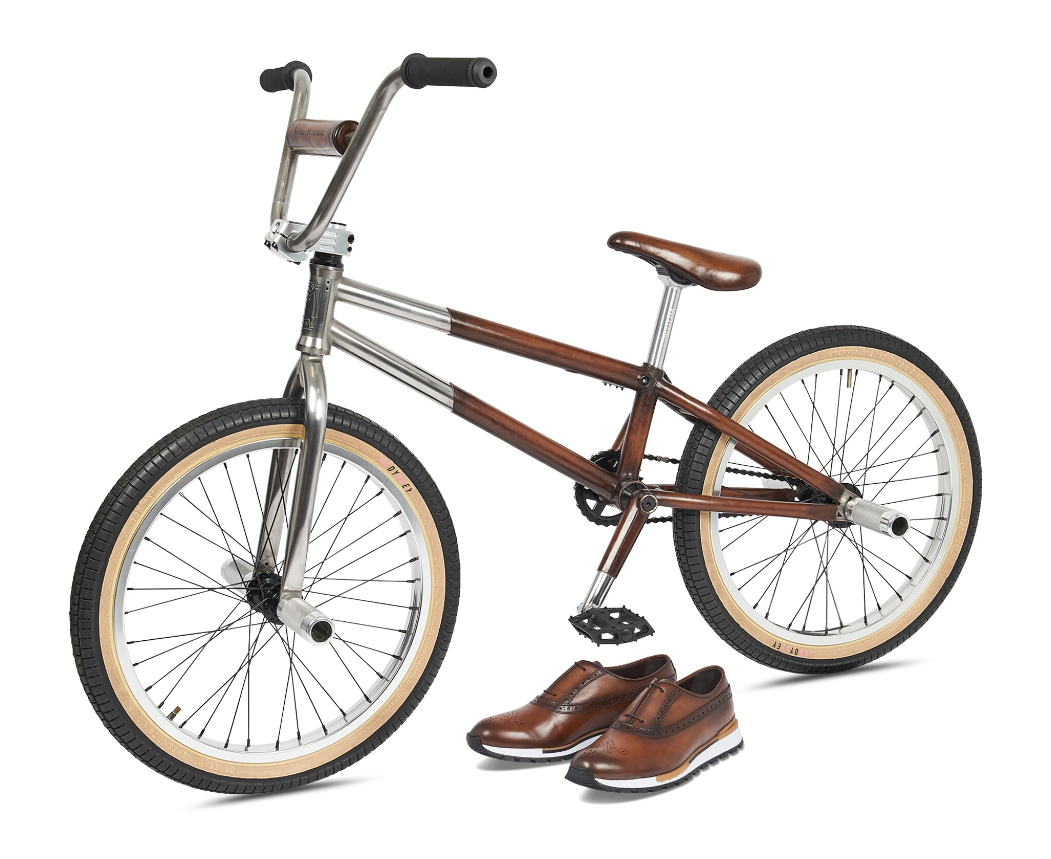 View full screen - View 1 of Lot 10. Berluti | BMX and Fast Track Shoes (BMX et Fast Track Chaussure) [2 Items / Articles].