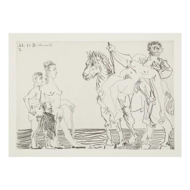 View 11. Thumbnail of Lot 169. PABLO PICASSO | LE COCU MAGNIFIQUE (B. 1244-1255; BA. 1432-1443; C. BKS 140).