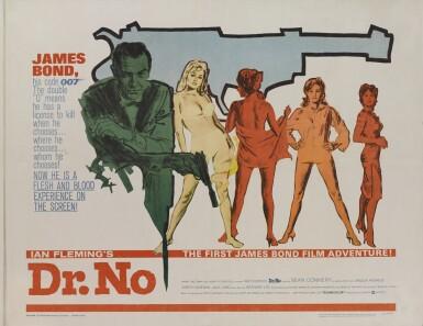 Dr. No (1962) poster, US
