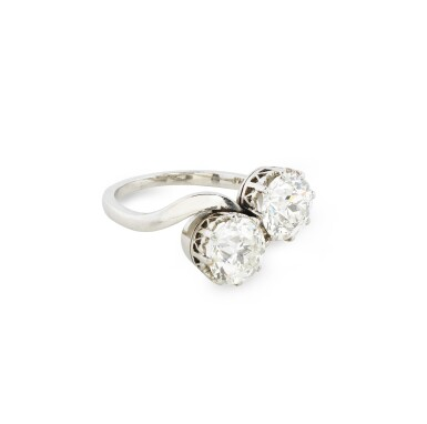 View 2. Thumbnail of Lot 2. BAGUE DIAMANTS | DIAMOND RING.