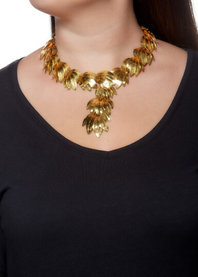 View 4. Thumbnail of Lot 95. NECKLACE, ZOLOTAS.