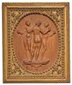 GERMAN, 18TH CENTURY | RELIEF WITH THE THREE GRACES