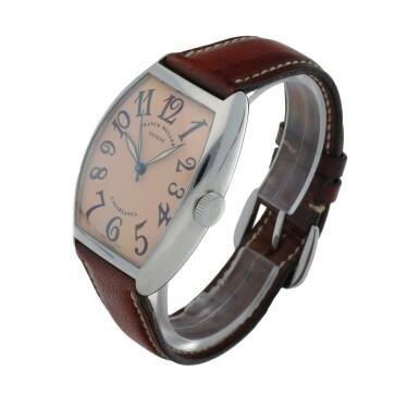 View 2. Thumbnail of Lot 545. Casablanca, Ref. 5850 Stainless steel wristwatch Circa 2002   Franck Muller 5850型號「Casablanca」精鋼腕錶,年份約2002.