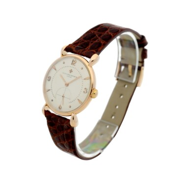 View 2. Thumbnail of Lot 291. REFERENCE 4299 A PINK GOLD WRISTWATCH, CIRCA 1955.