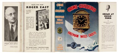View 3. Thumbnail of Lot 81. Freeman Wills Crofts | Crime at Guildford, 1935.