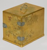 A FINE LARGE GOLD LACQUER KODANSU [INCENSE CABINET], MEIJI PERIOD, LATE 19TH CENTURY
