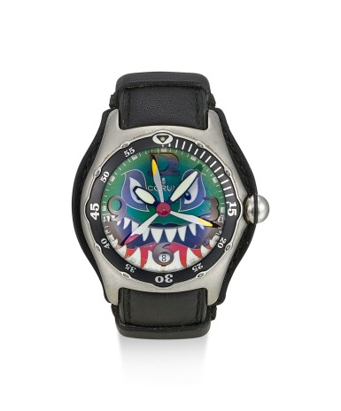 CORUM | BUBBLE, REFERENCE 82.180.20, A LIMITED EDITION WRISTWATCH WITH DATE, CIRCA 2004
