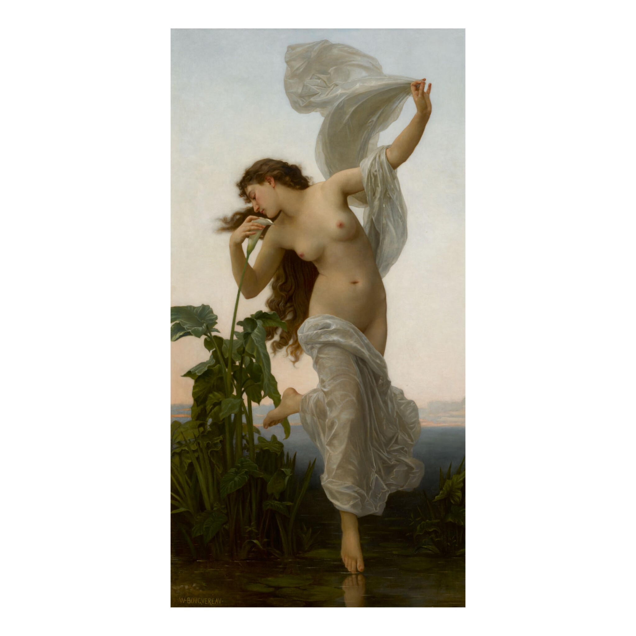 View full screen - View 1 of Lot 420. WILLIAM BOUGUEREAU AND STUDIO | L'AURORE (RÉDUCTION) .