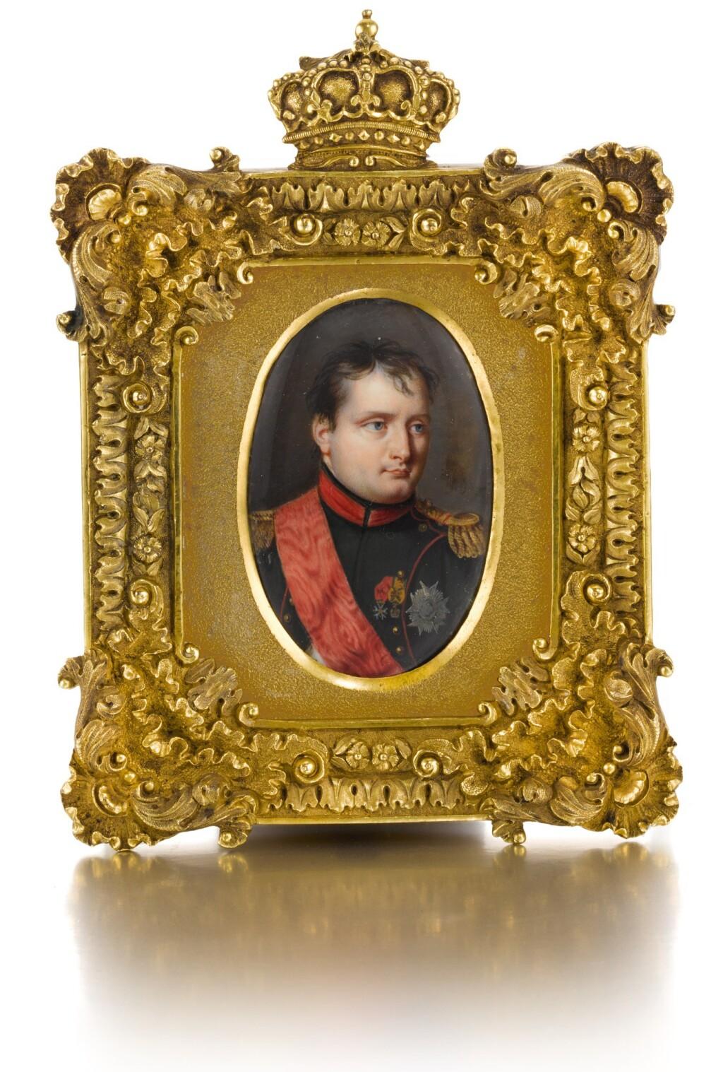 ATTRIBUTED TO AUBERT-HENRI-JOSEPH PARENT | PORTRAIT OF NAPOLEON I, EMPEROR OF THE FRENCH
