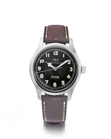 IWC   MARK XV SPITFIRE REF 3253, A LIMITED EDITION STAINLESS STEEL AUTOMATIC WRISTWATCH CIRCA 2002