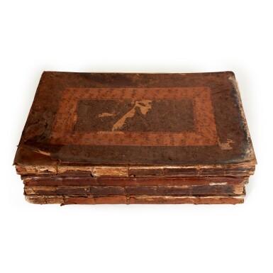 View 3. Thumbnail of Lot 56. SEA CHARTS   The English Pilot. Parts 1-4, 4 volumes, 1743-1740-1750-1742.