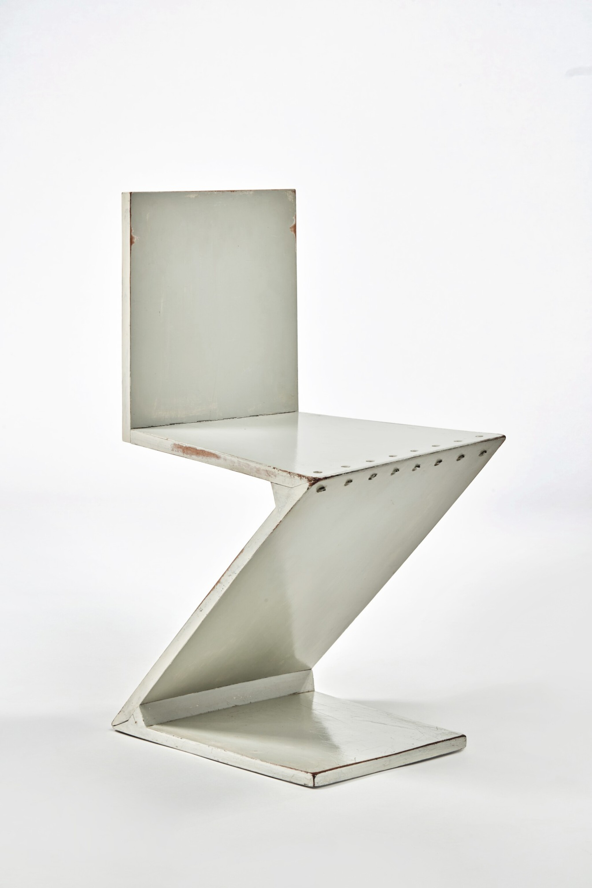 """View full screen - View 1 of Lot 12. """"Zig-Zag"""" Chair."""