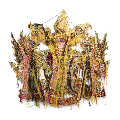 View 1. Thumbnail of Lot 185. Hew Locke, b. 1959 | All that Glitters (The Coat of Arms of the City of London).