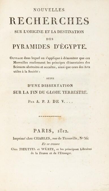 View 2. Thumbnail of Lot 59. Nouvelles recherches... Paris, 1812. Exemplaire de présent aux armes de Napoléon Ier.