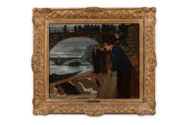 View 3. Thumbnail of Lot 22. Le noyé du Pont des Arts.