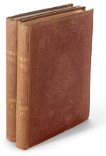 Dickens, American Notes for General Circulation, 1842, first edition, presentation copy inscribed to Carlyle