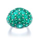 GRAFF | EMERALD AND DIAMOND RING