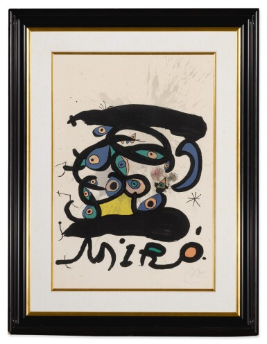 View 2. Thumbnail of Lot 118. Affiche pour l'Exposition Peintres sur Papier, Dessins (M. 737).