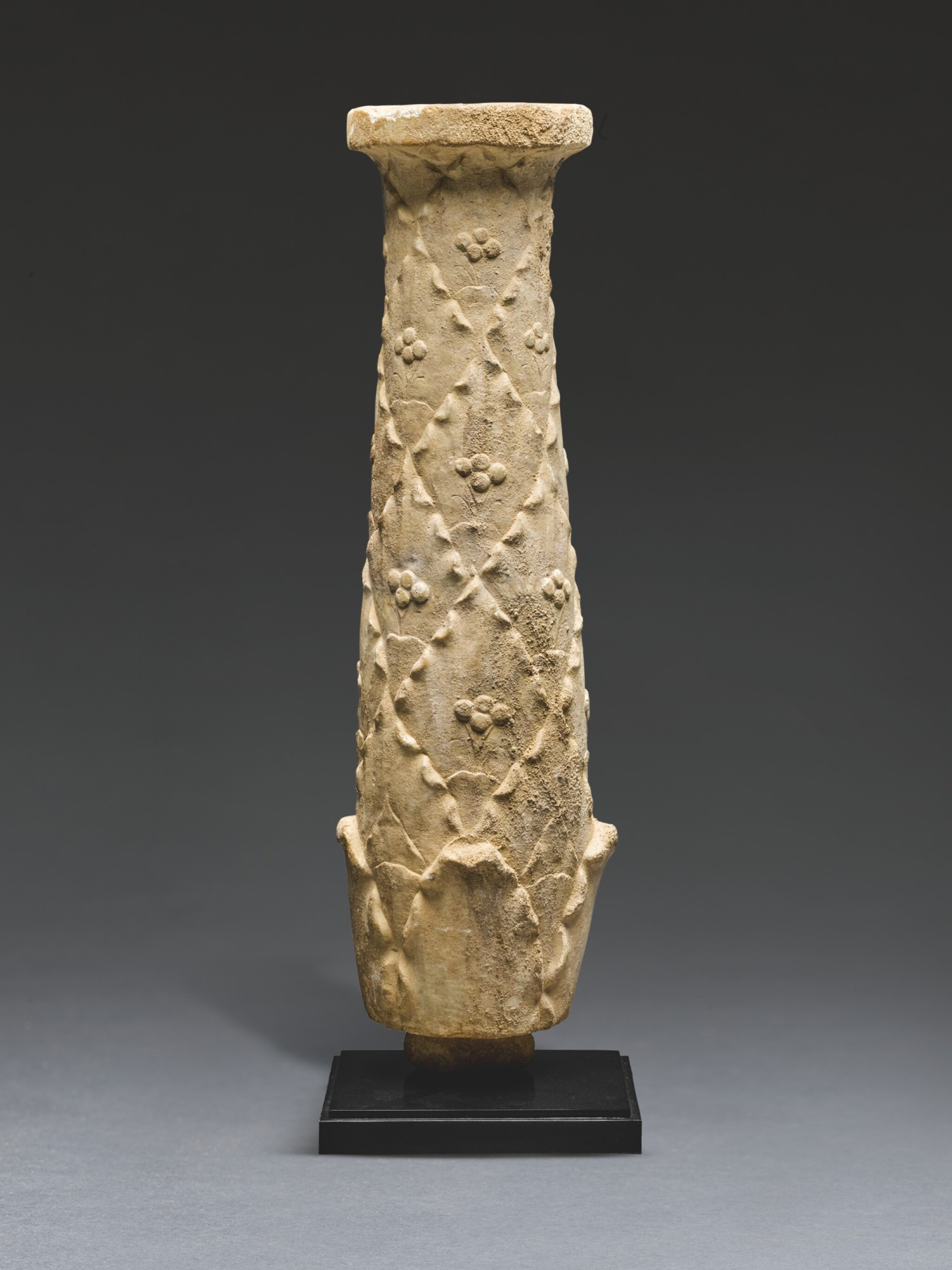 View full screen - View 1 of Lot 51. A ROMAN MARBLE CANDELABRUM ELEMENT, CIRCA 1ST CENTURY A.D..